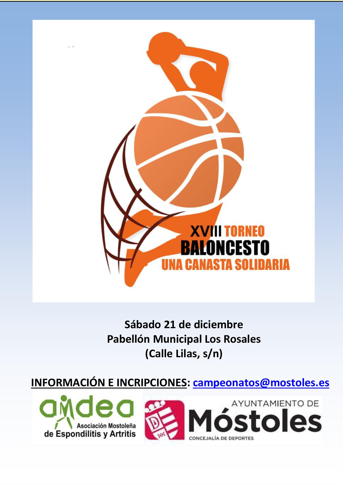 XVIII Torneo Canasta Solidaria