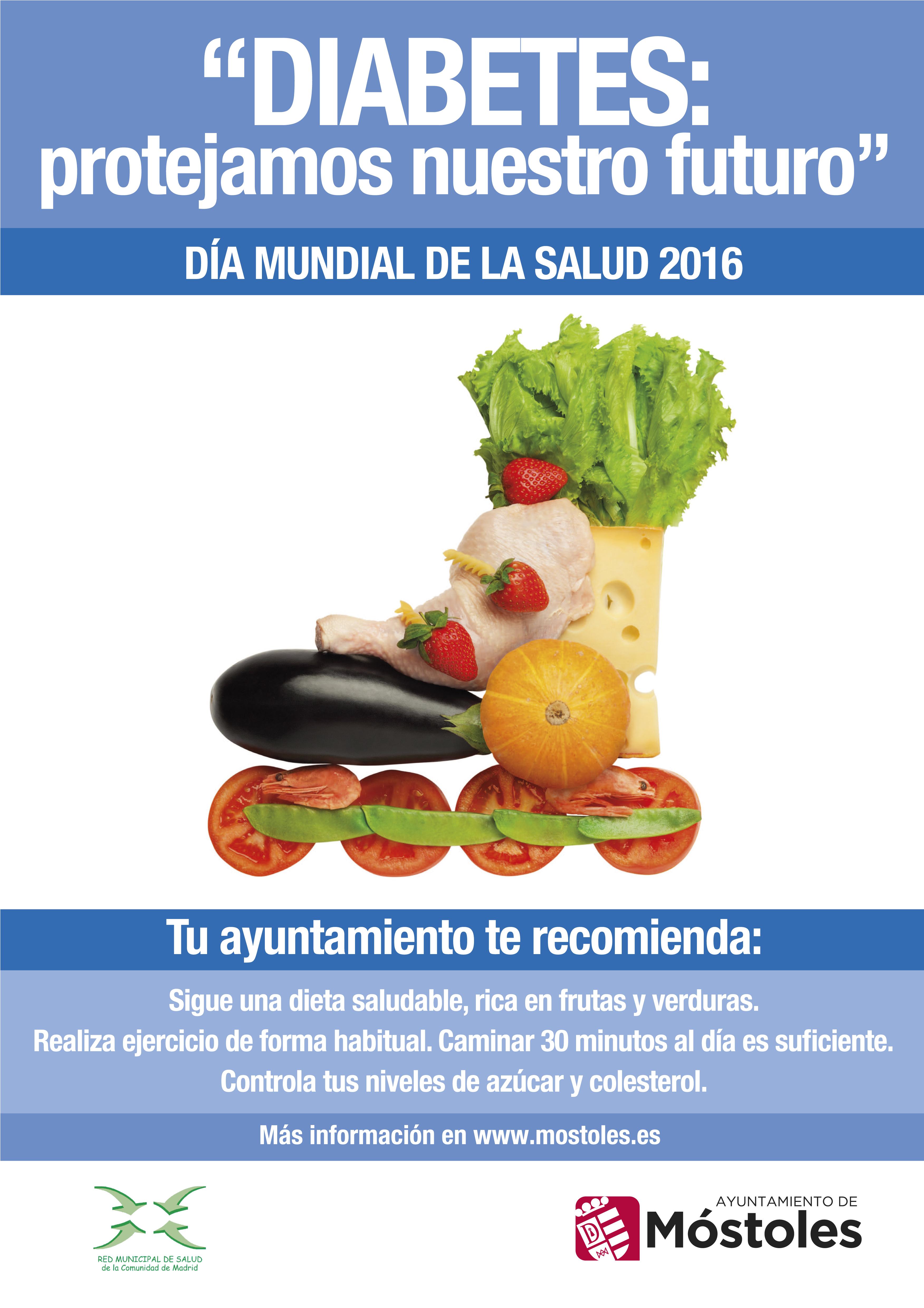 Dia Mundial De La Salud 2016 Diabetes 7 De Abril Espacio Saludable